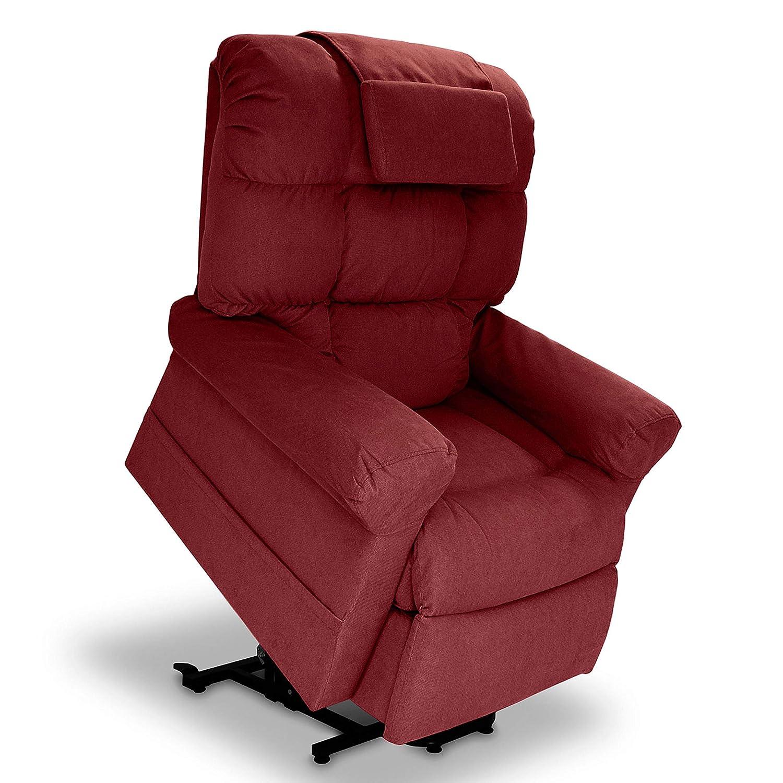 Superb Wiselift 450 Sleeper Lift Chair Enduralux Fabric Feather Gray Machost Co Dining Chair Design Ideas Machostcouk