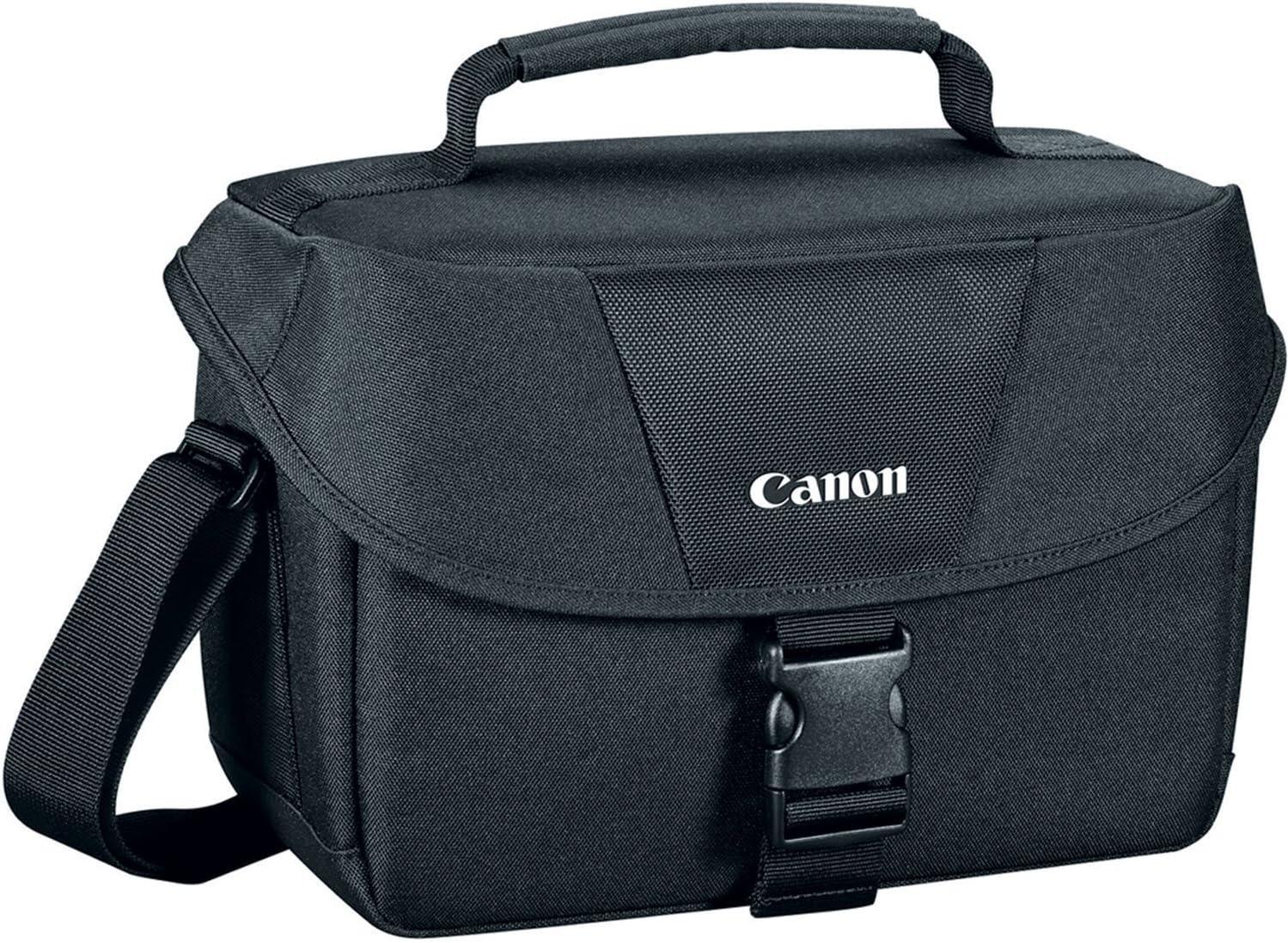 Canon 9320A023 100ES Shoulder Bag, Black : Photographic Equipment Bag Accessories : Camera & Photo