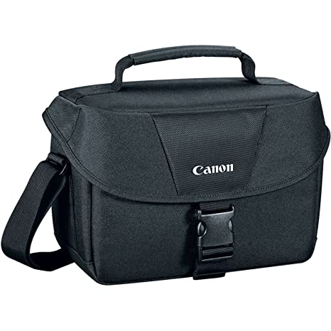 811e388079 Amazon.com : Canon 9320A023 100ES Shoulder Bag, Black : Photographic  Equipment Bag Accessories : Camera & Photo