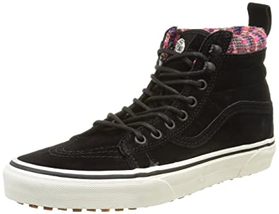 Sk8 Hi Women US 6 Black Skate Shoe