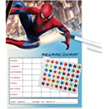 Spiderman Re-usable Reward Chart (including FREE Star Stickers and Pen)