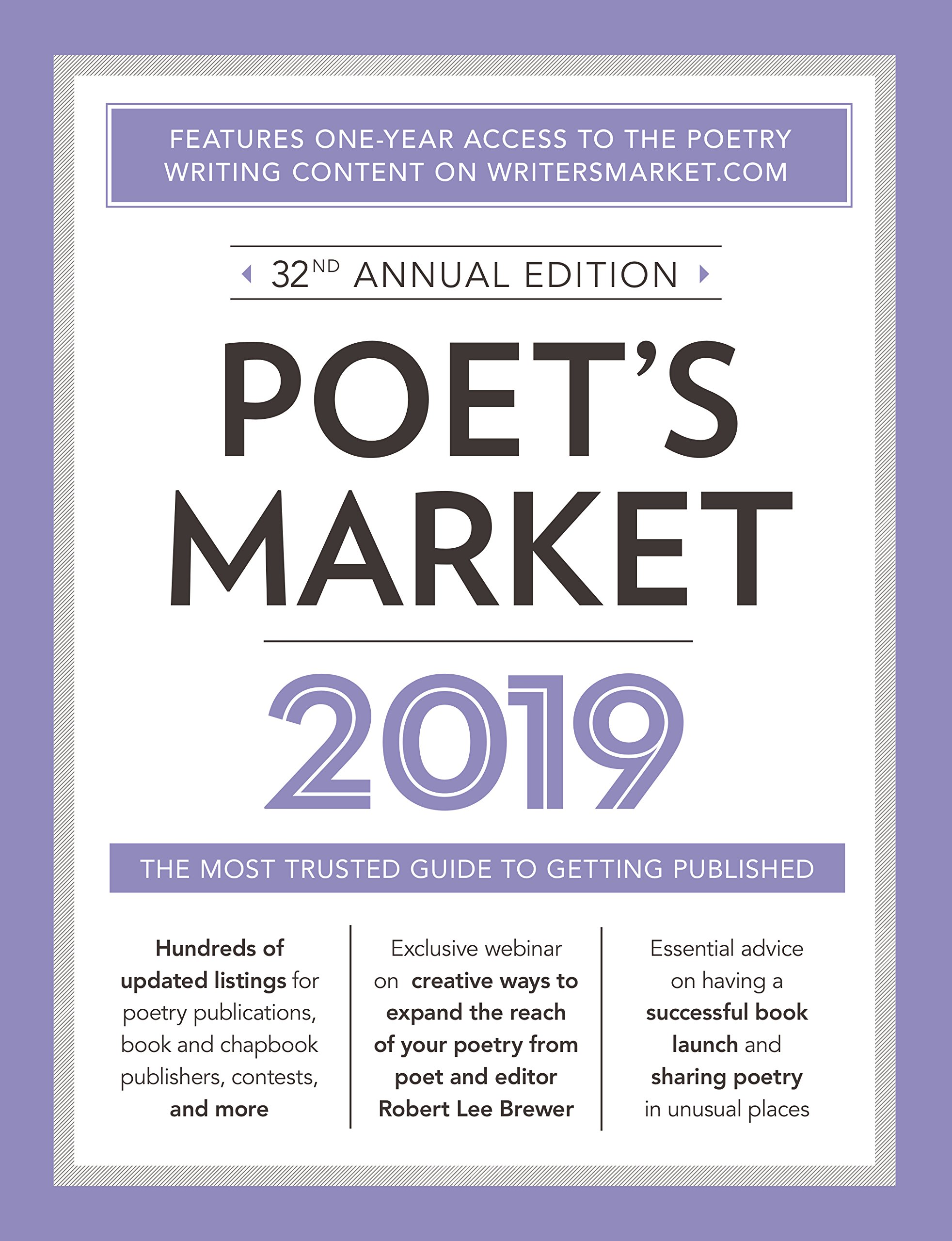 Poet's Market 2019: The Most Trusted Guide for Publishing Poetry by Writer's Digest Books