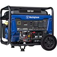 Westinghouse WGen5300s Storm Portable Generator with Electric Start and 120/240 Volt… photo