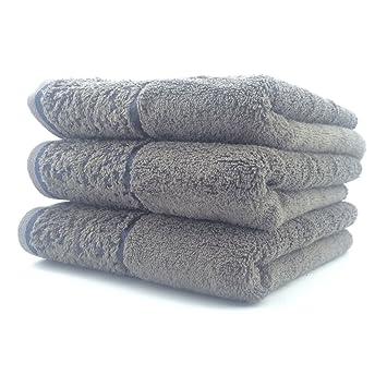 3pcs/pack – multiusos algodón toalla de mano limpiador lavado toallas de ducha toalla de