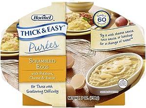 Thick & Easy® Purées, Scrambled Eggs/Potatoes Purée, 7 oz. Tray