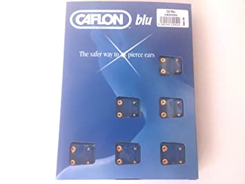 1 DOZ CAFLON MINI CRYSTAL EAR PIERCING STUD NEW JtlW5AHUXm