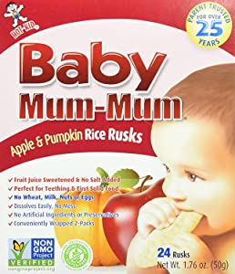 Baby Mum Mum Apple 1.76 Ounces (Case of 6)