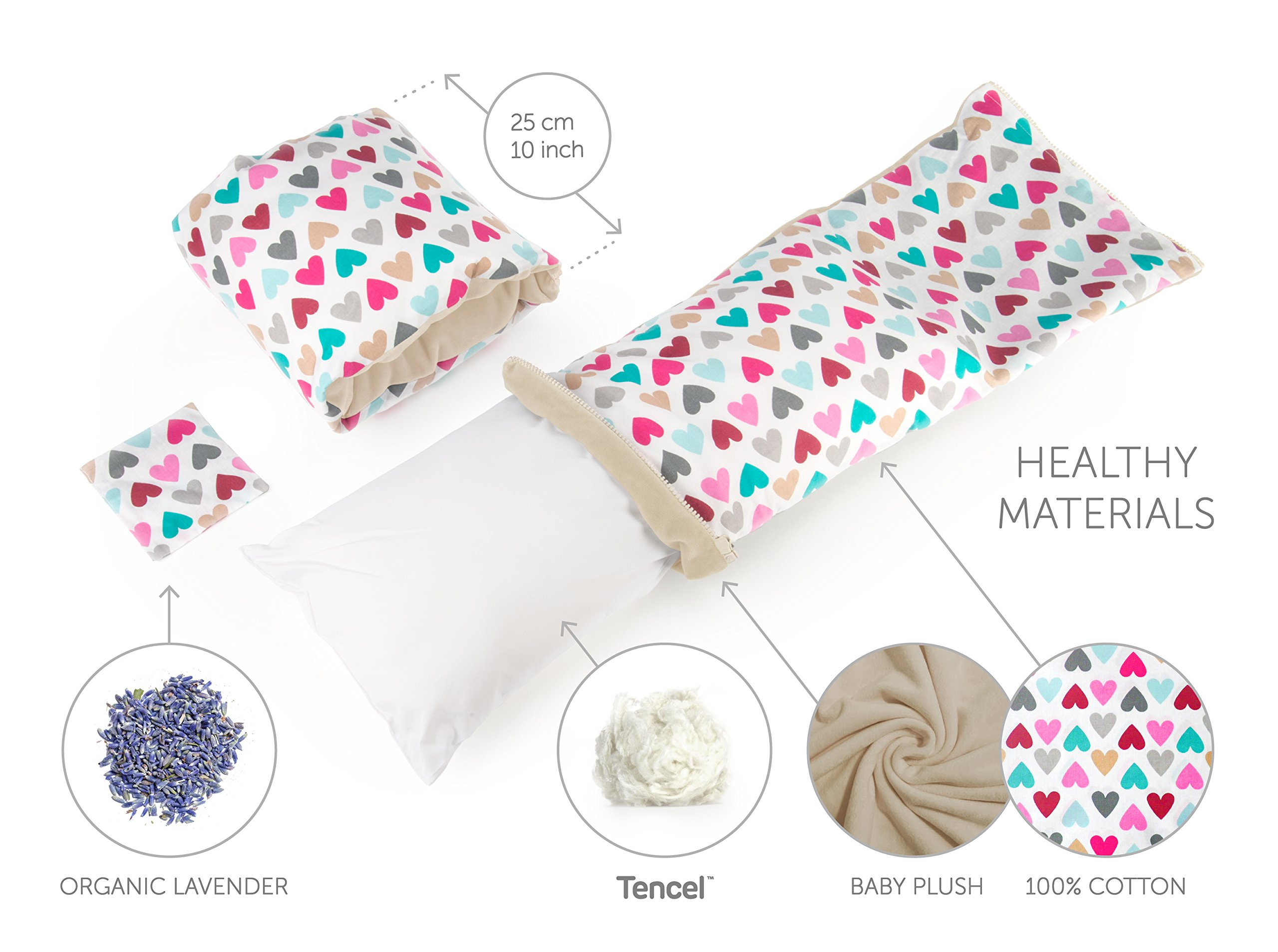 Benjamin Button - Arm Nursing, Breastfeeding Pillow and Positioner   Organic, Natural, Ergonomic Back Support Shape by Benjamin Button (Image #5)