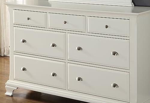 Roundhill Furniture Laveno Wood 7 Drawer Dresser Review