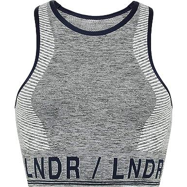991a090d92 LNDR Aero.01 High Neck Sports Bra - Women s at Amazon Women s Clothing store