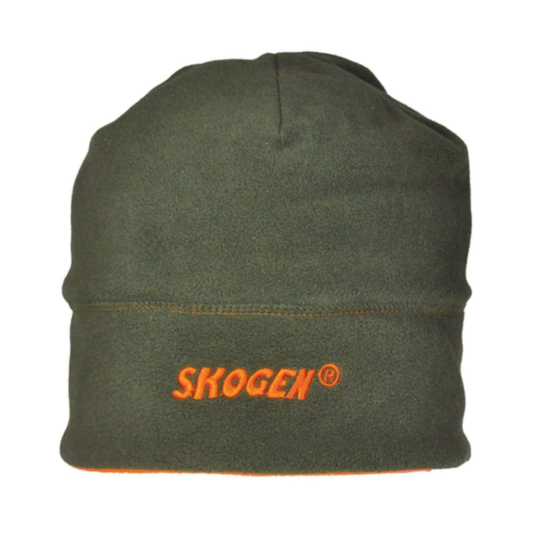 Gorro Skogen verde-naranja Fleec/é Tapa de batida