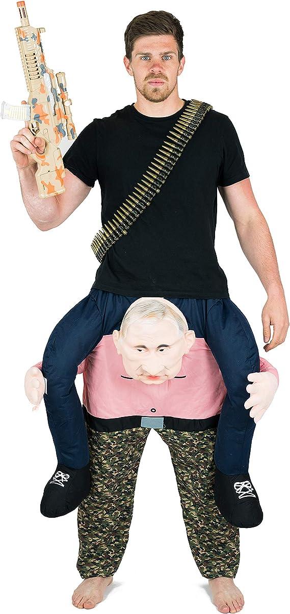 Bodysocks® Disfraz a Hombros (Carry Me) de Vladimir Putin para ...