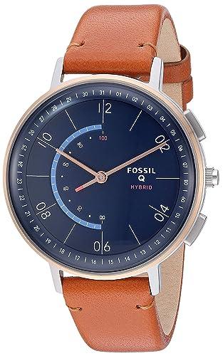 Amazon.com: Fossil - Reloj de cuarzo analógico híbrido de ...