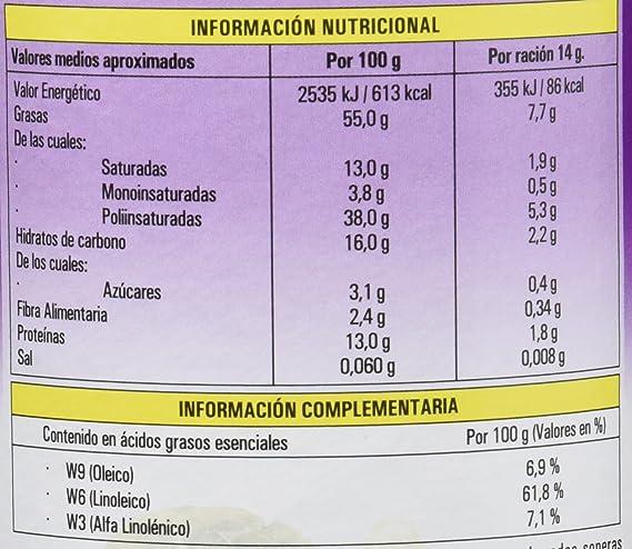 Hijas Del Sol Lecitina de Soja con Chía - 200 gr: Amazon.es ...