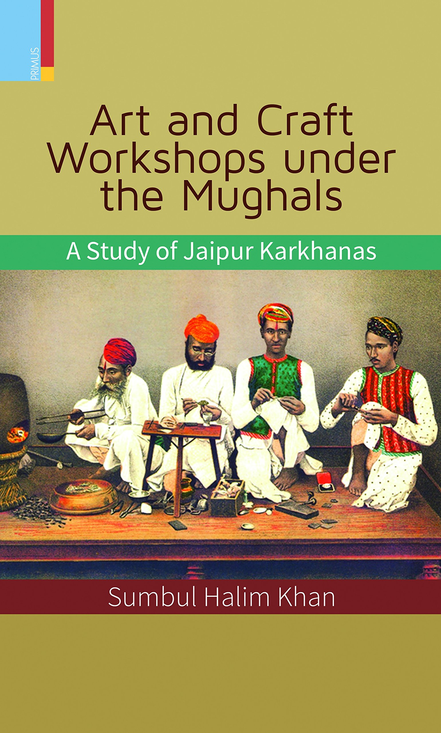 Download Art and Carft Worksops under the Mughals pdf