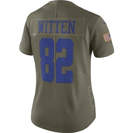 sports shoes 1a455 cc4a5 Amazon.com : Nike Dallas Cowboys Jason Witten Women's Salute ...