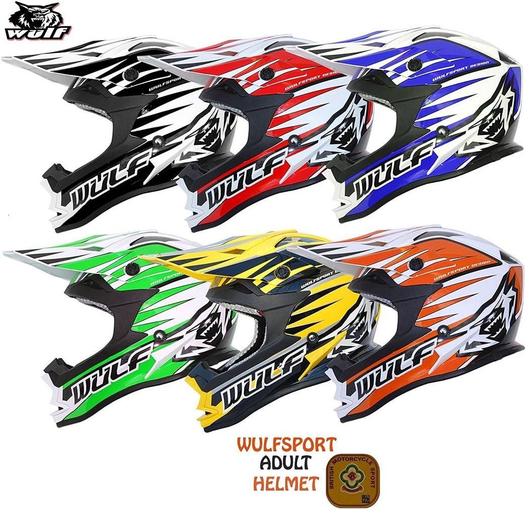 Moto X1 Goggles MOTORBIKE WULFSPORT ADVANCE ADULT MX OFF ROAD HELMET Motorbike Motocross Quad ATV Enduro PIT Sport WUlf Stratos Gloves