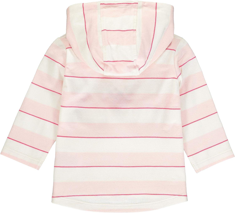 Steiff Baby-M/ädchen Mit Streifen und Teddyb/ärmotiv Sweatshirt