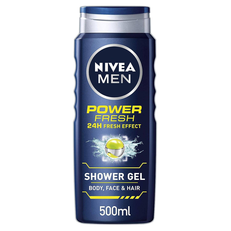 Nivea Men Power Refresh Bagnoschiuma, 500ml, confezione da 6 Beiersdorf 80898-04500-43