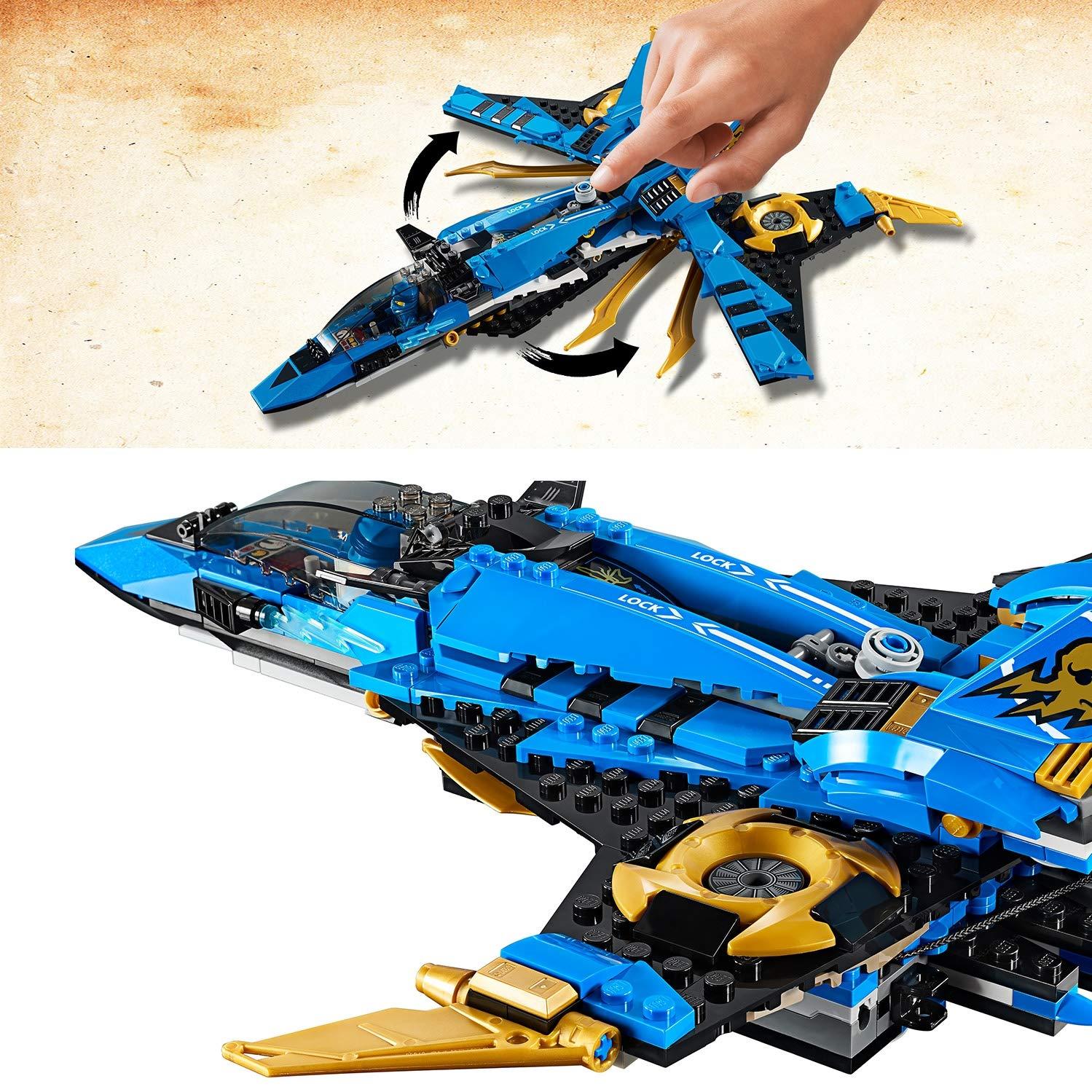 LEGO 70668 Ninjago Legacy Jay's Storm Fighter Building Kit ...