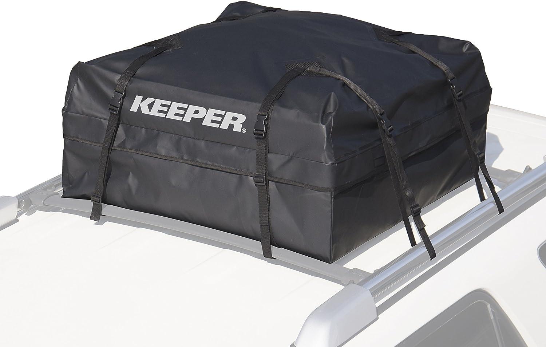 KEEPER 8 Black Waterproof Rooftop Cargo Bag (8 Cubic Feet)