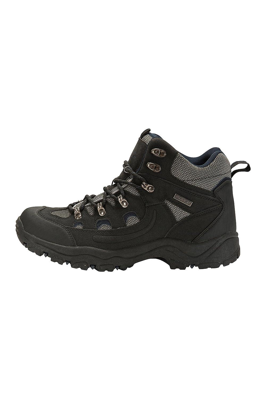 Chaussures imperm/éables adh/érence suppl/émentaire Mountain Warehouse Boots Hommes Adventurer Chaussures pour la randonn/ée et Les treks Textile /& synth/étique