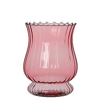 Mica Decorations 1006996 Lantern Pink Amazon Co Uk Garden