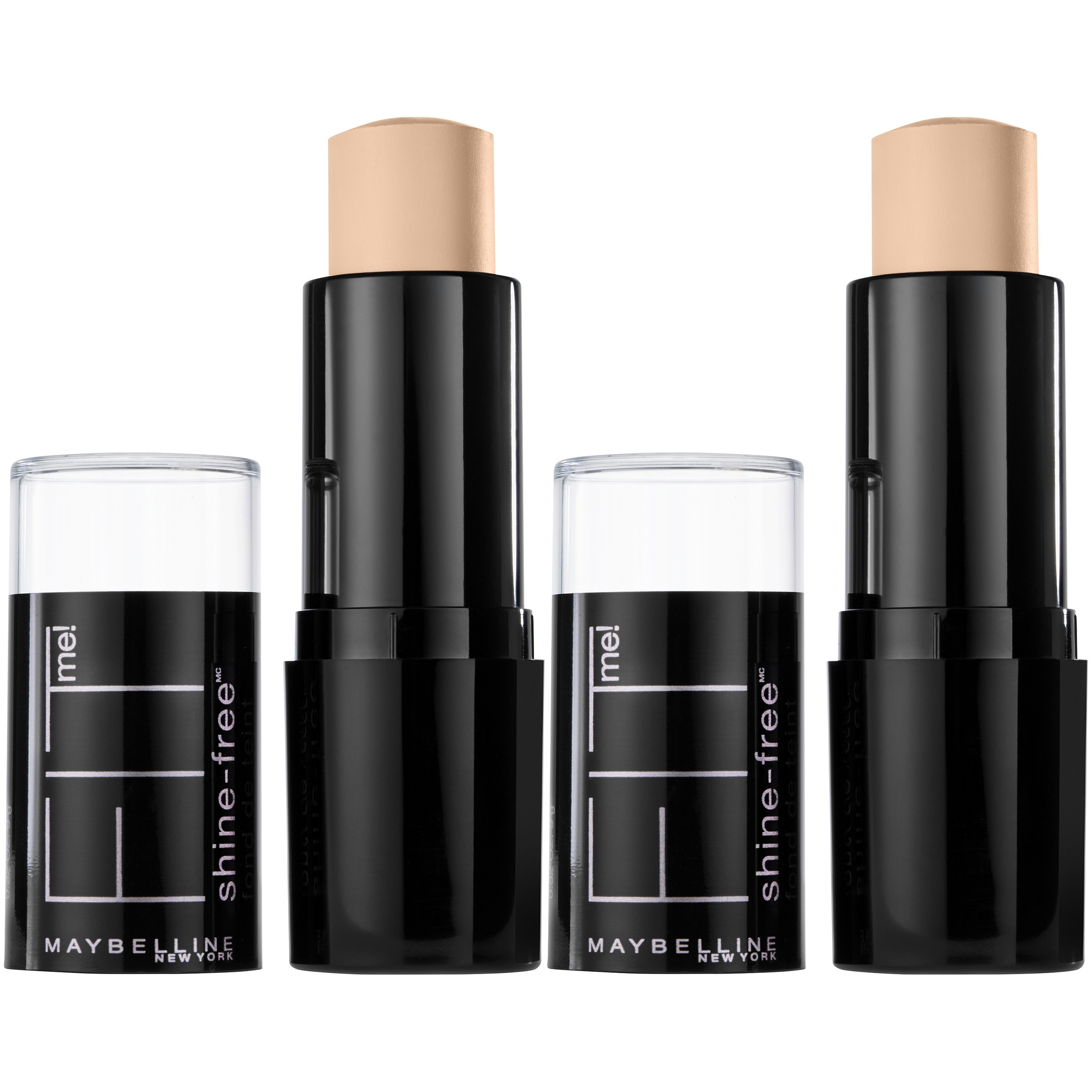 Maybelline New York Fit Me Shine-free + Balance Stick Foundation Makeup, Classic Ivory, 2 Count