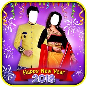happy new year couple suit