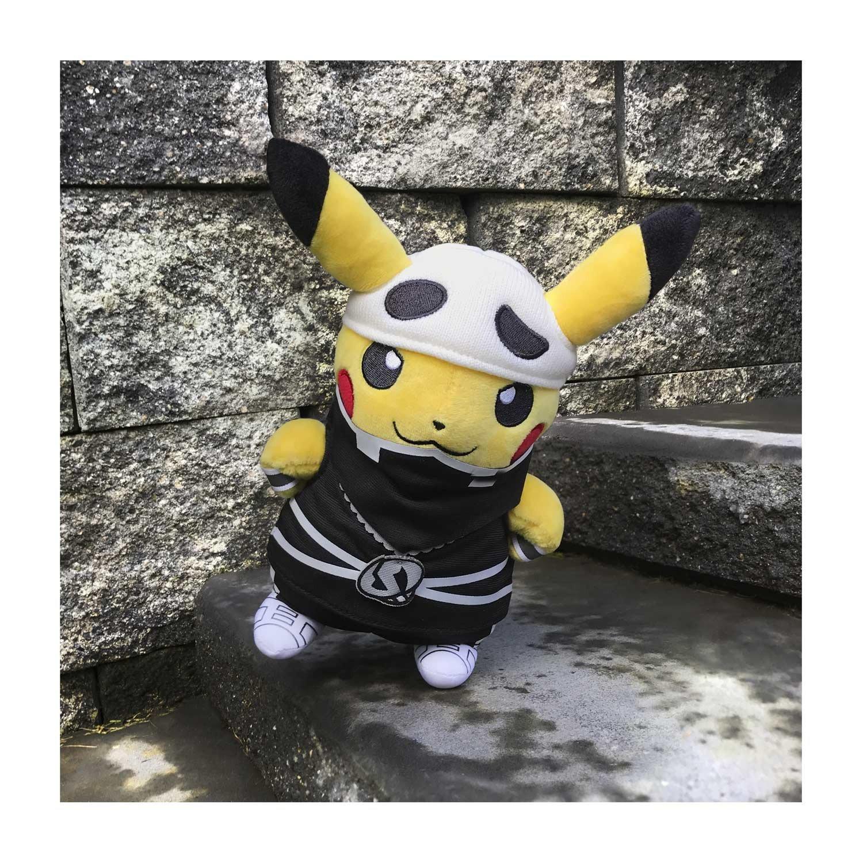POK/É PLUSH STANDARD COSTUME PIKACHU//TEAM SKULL Pokemon Center SG/_B06Y3H2L9X/_US