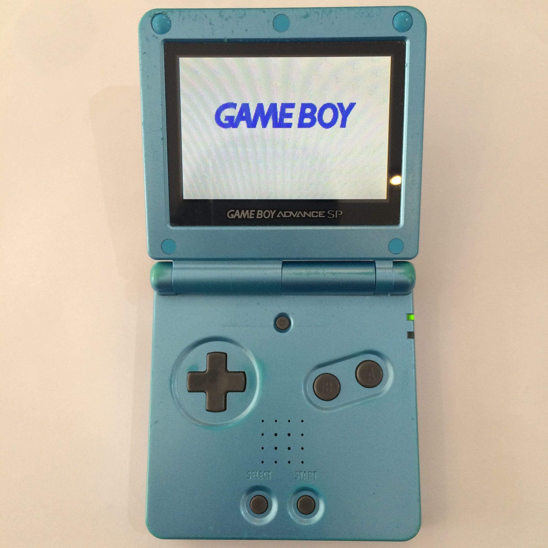 Amazon.com: Game Boy Advance SP - Surf Blue Edition: Video Games