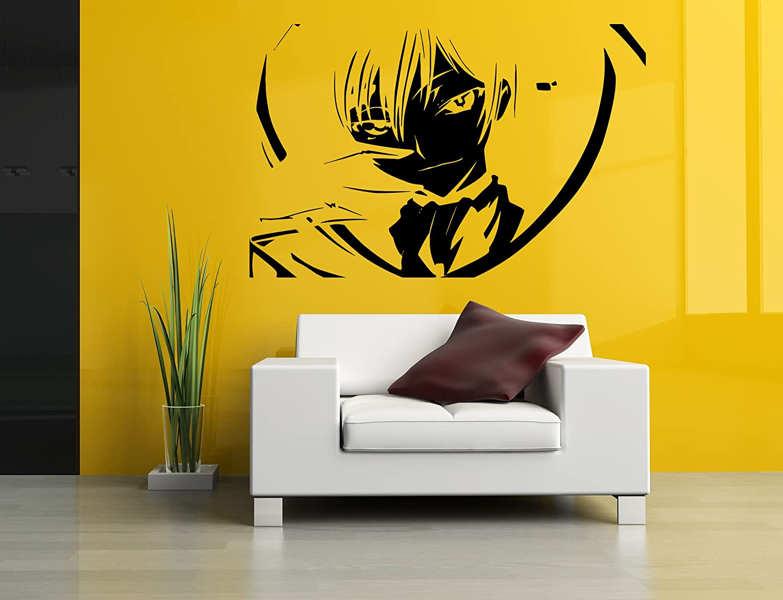 Amazon.com: Vinyl Sticker Decal Code Geass Lelouch Bedroom Playroom ...