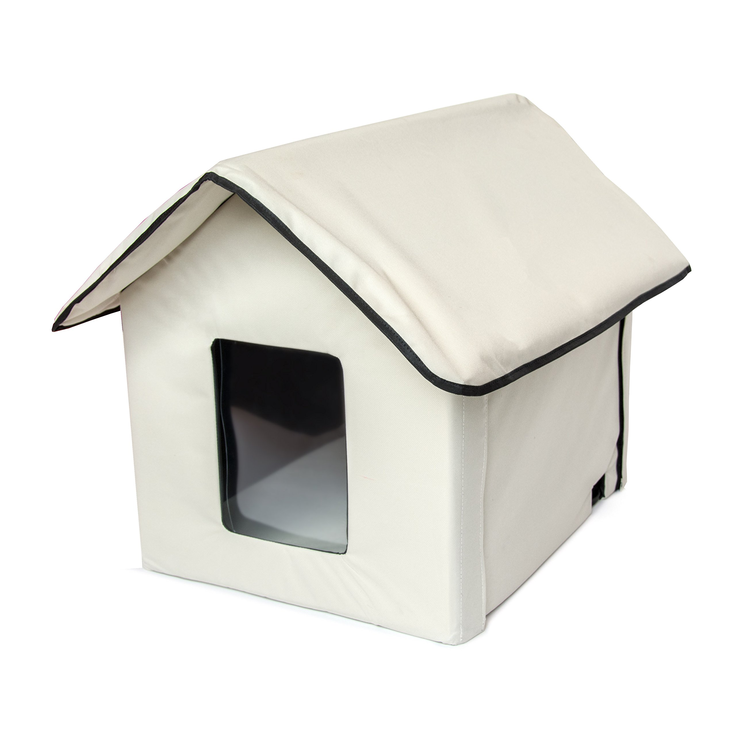 ALEKO PHH01S Portable Outdoor Indoor Pet House Collapsible Dog Cat Shelter Bed