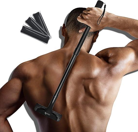 EASACE Afeitadora Espalda Depilación Corporal para Hombre ...