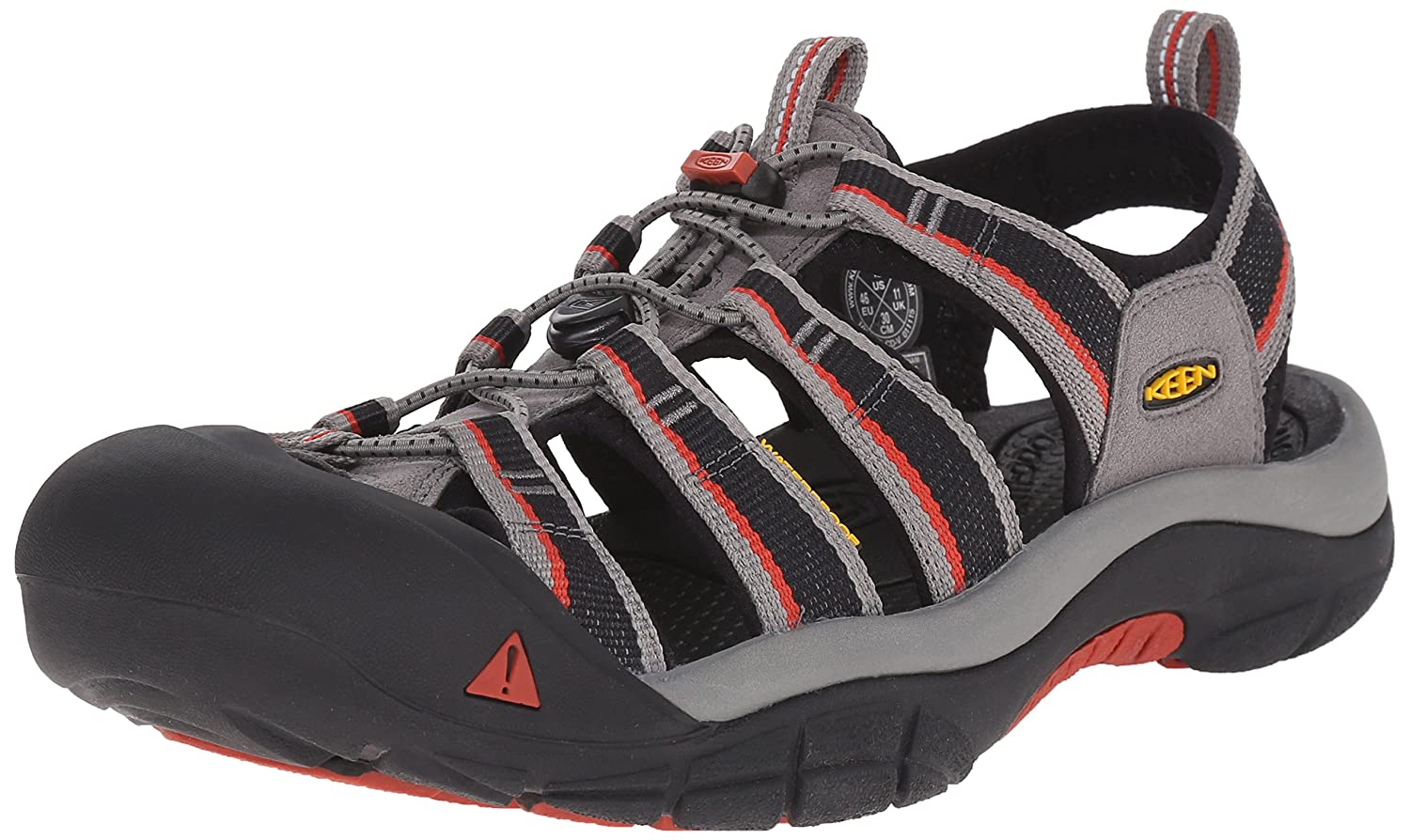 KEEN Men's Newport H2 Sandal Keen Adults - US SHOES newport h2-m-M 110230_BLCK