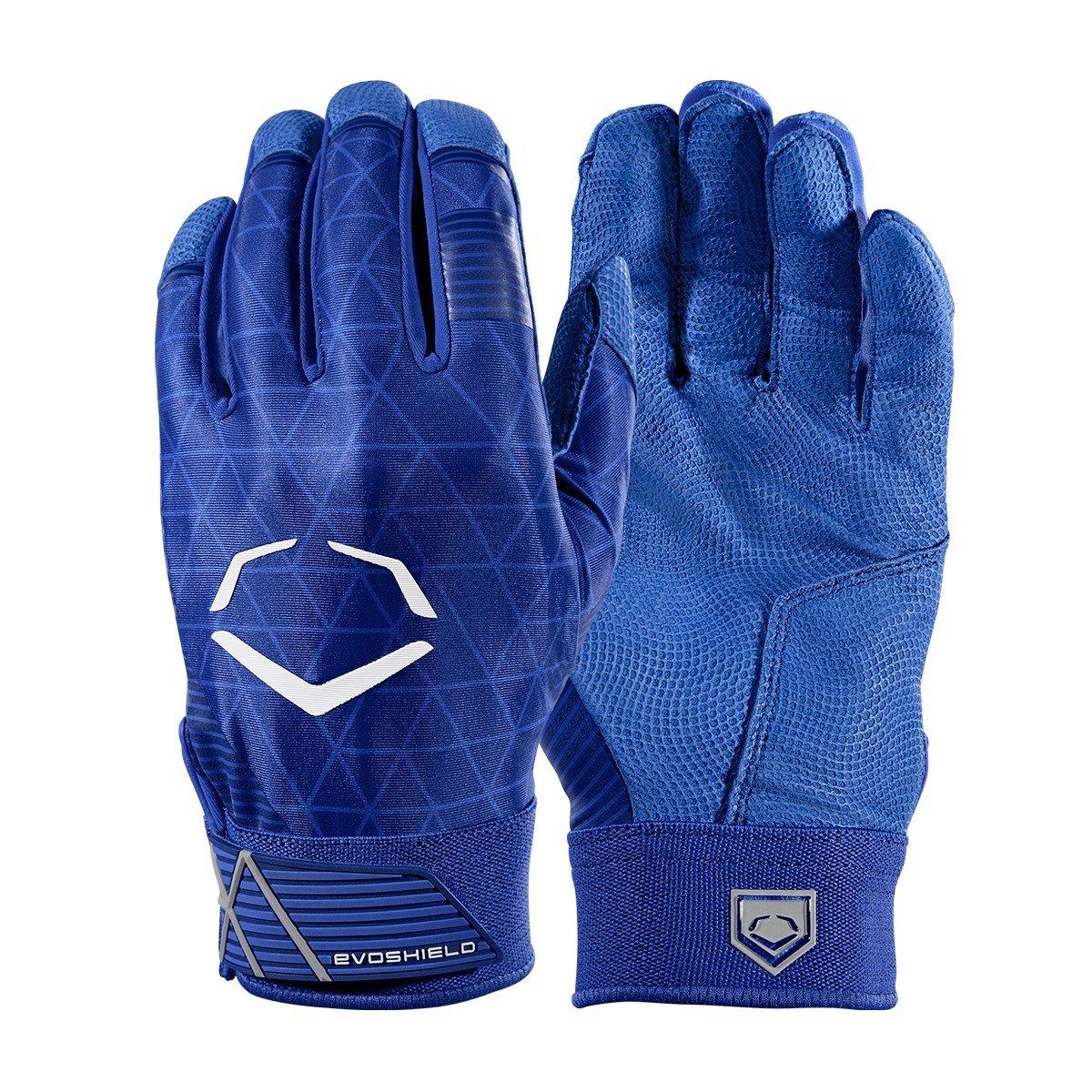 Evoshield evocharge保護用バッティング手袋 B0741J1N8S X-Large|ロイヤル|アダルト ロイヤル X-Large