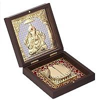 Aheli God Ganesha Photo Frame, Indian Housewarming Return Gift, Momento Frame for Pooja, Goddess of Good Fortune and…