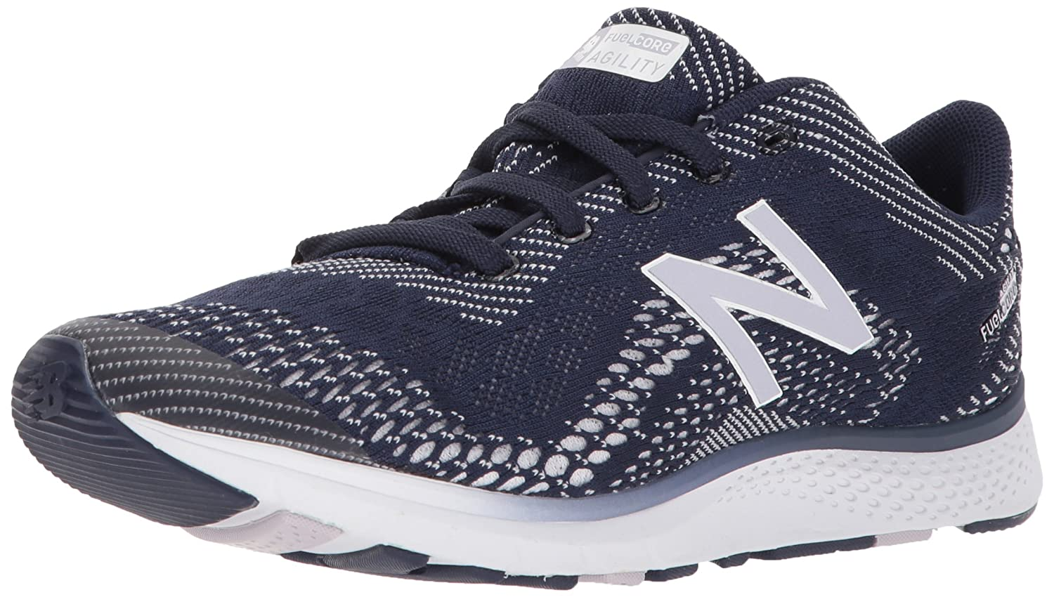New Balance Women's FuelCore Agility v2 Cross Trainer B06XRVN3Q2 9.5 D US|Pigment/Thistle