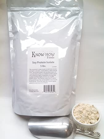 100 Pure Soy Protein Isolate – 5 lbs.