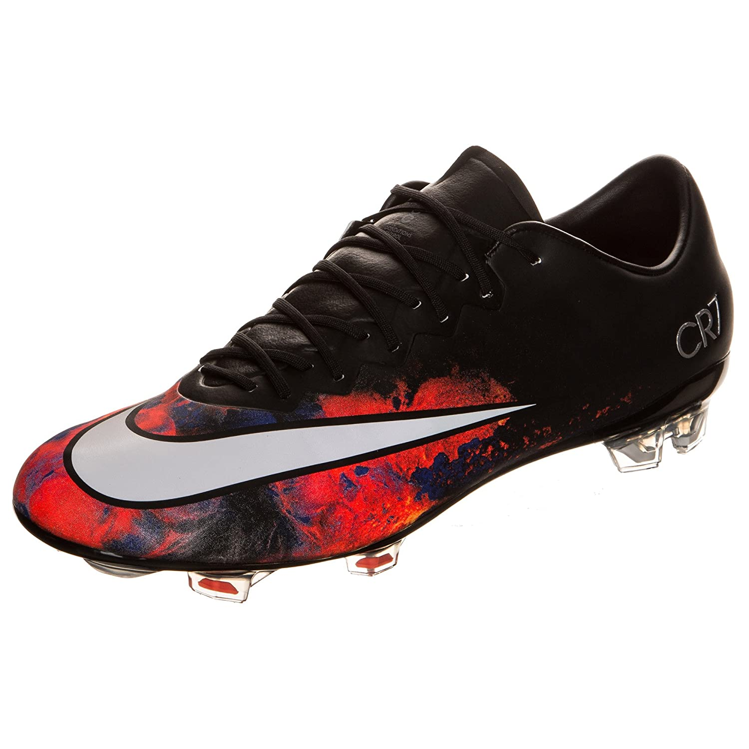 ee070a2fe ... purchase amazon nike mercurial vapor x cr7 fg mens firm ground soccer  cleats black white soccer