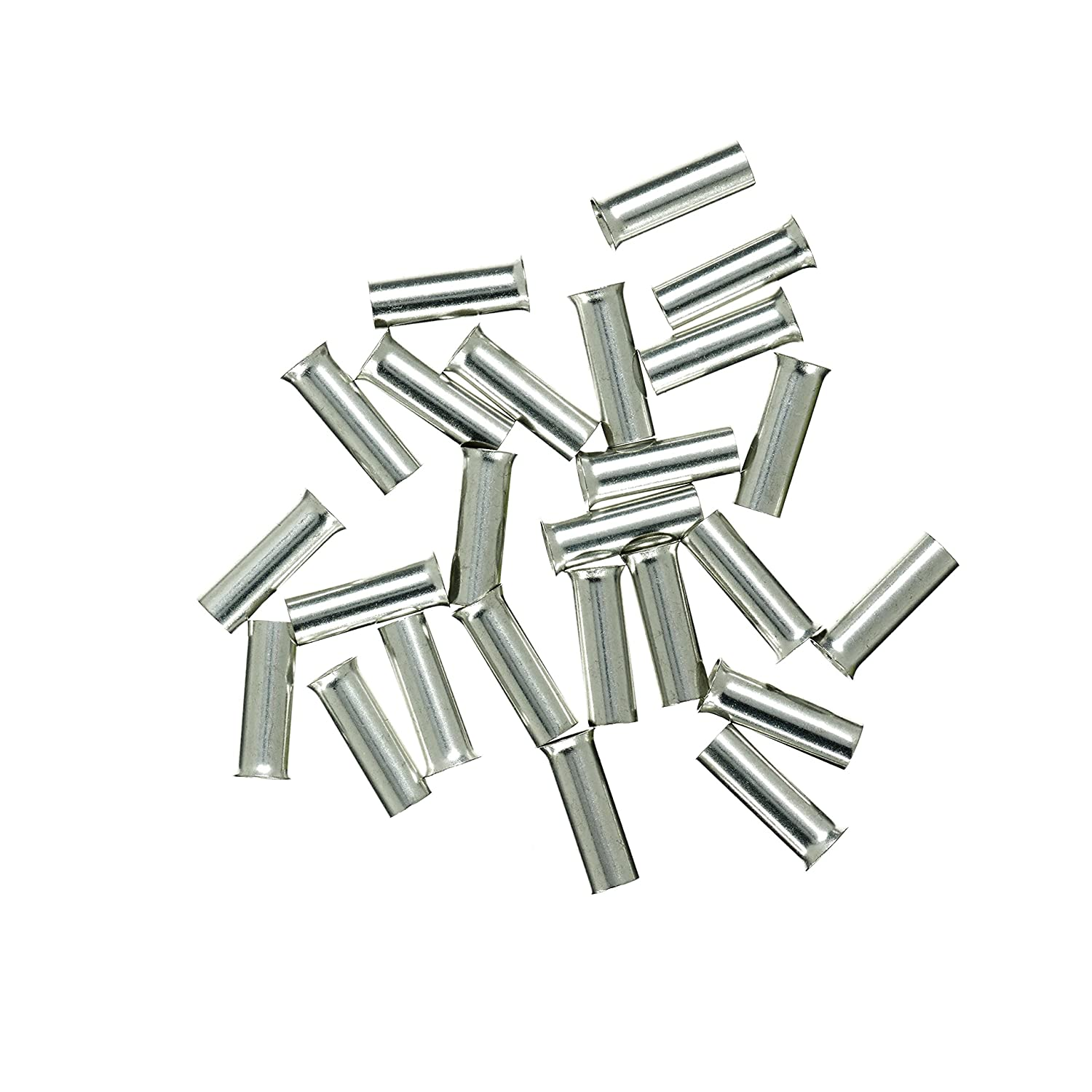 Haupa Tinned Wire End Ferrules 6/mm/² Pack of 25, BLV270102