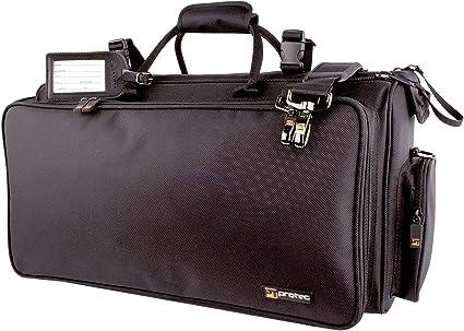 Protec C248 Deluxe - Funda para trompeta triple, color negro: Amazon.es: Instrumentos musicales