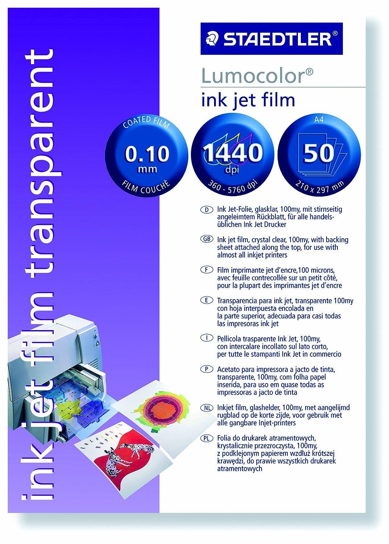 STAEDTLER 63931 A4 - Ink-Jet de Pantalla 50 Protectores: Amazon.es ...