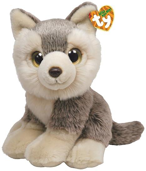 Ty 7175015 - Perro husky de peluche Rocky (33 cm) [importado de Alemania