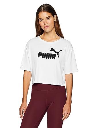Playera Puma Essential Logo Mujer