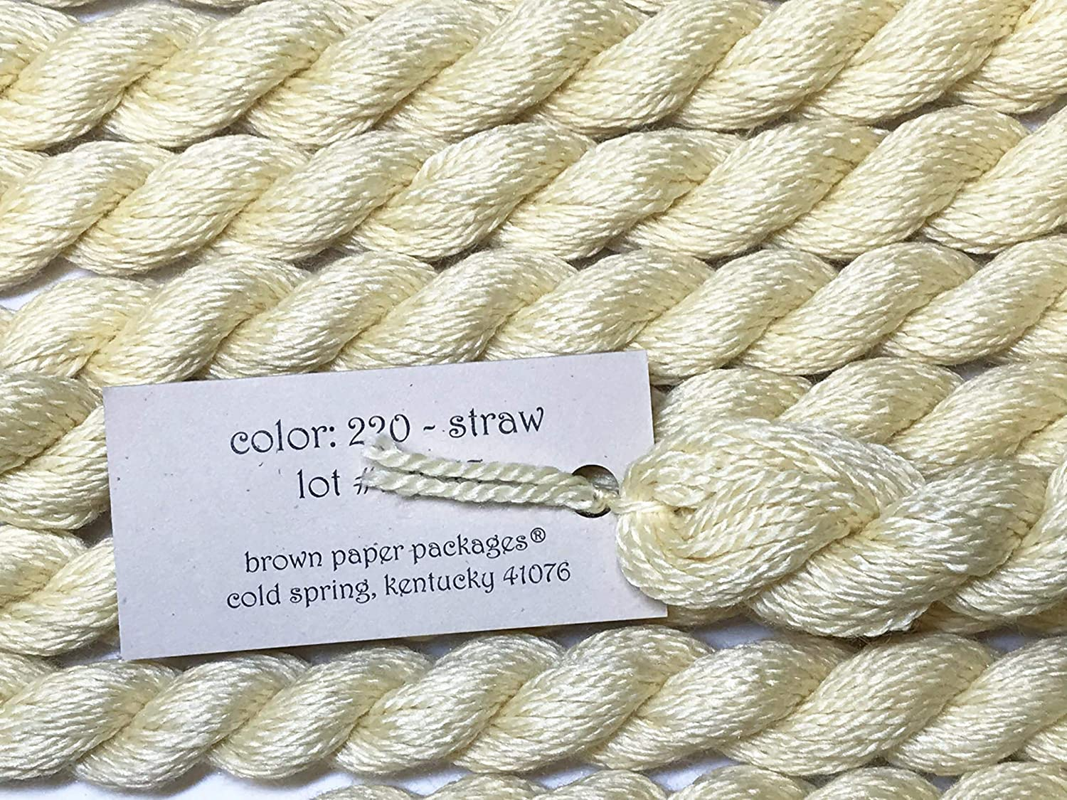 Silk /& IVORY-STRAW-220-1 SKEINS with This Listing