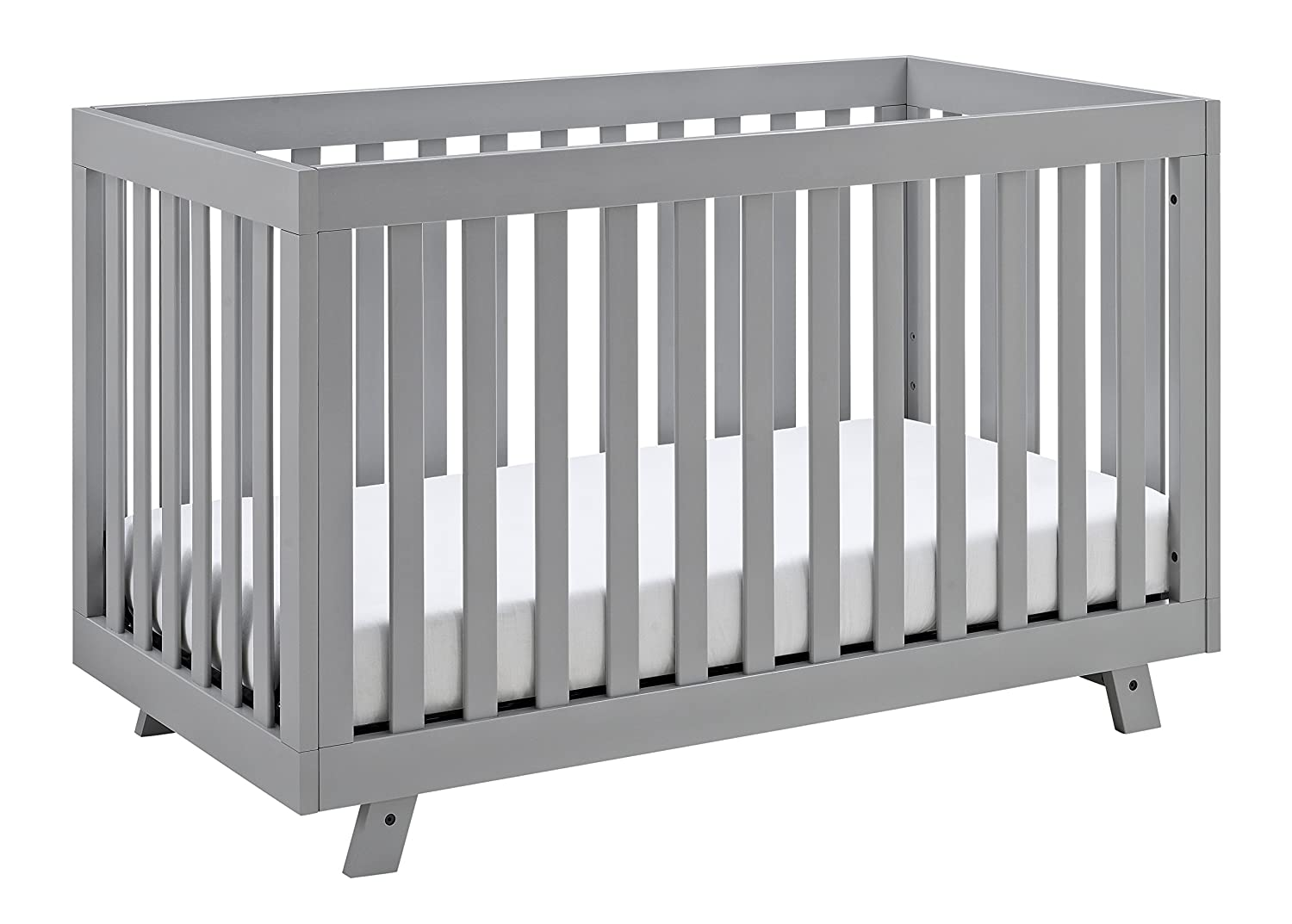 mackenzies walls light gray with room dark pinterest crib grey cribs pin