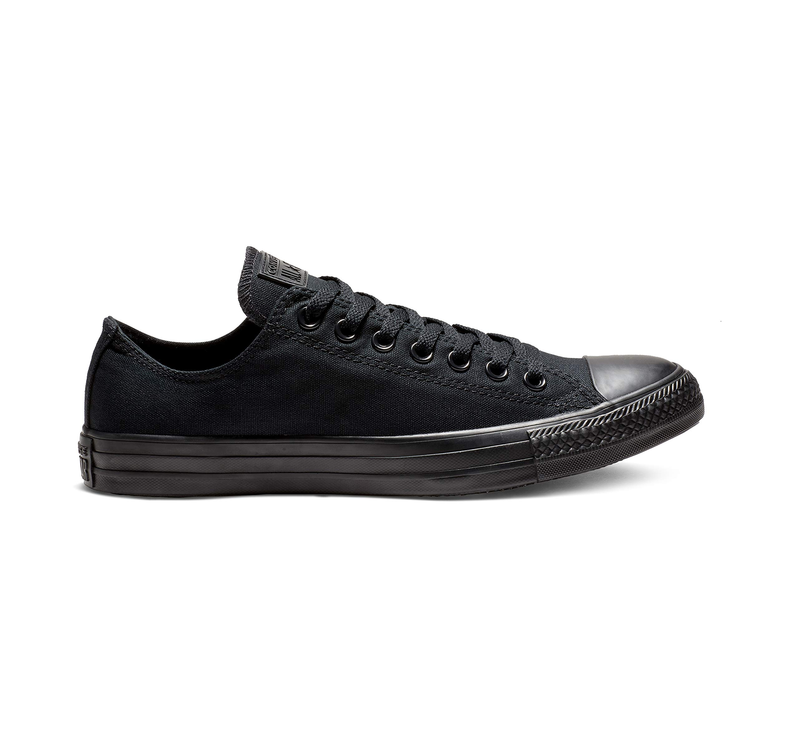 Converse Unisex Chuck Taylor All Star Low Top Black Monochrome Sneakers - 9 D(M) US by Converse (Image #13)