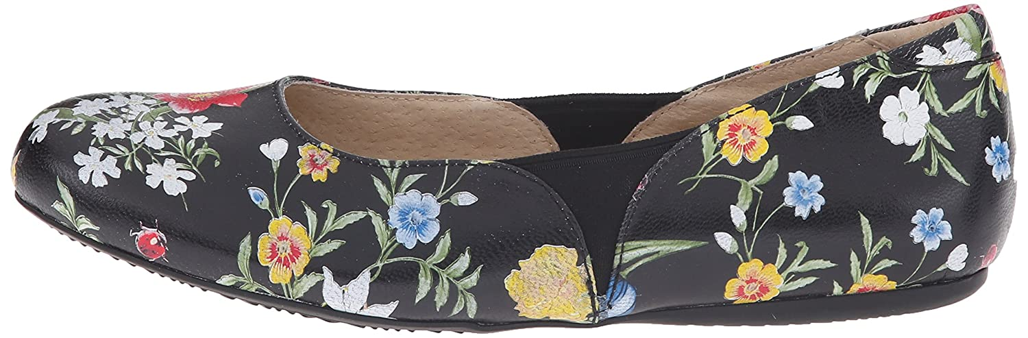 SoftWalk Women's Norwich Ballet Flat B011EZJJ8S 6 W US|Floral