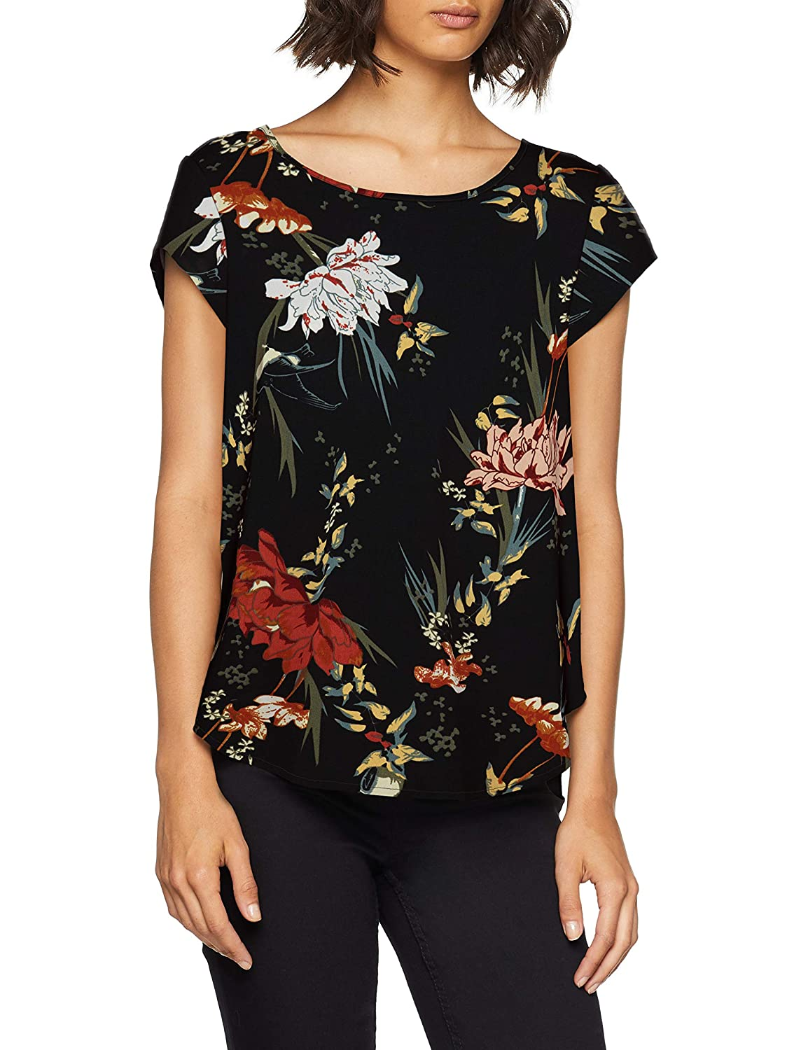 Only Onlvic SS AOP Top Noos Wvn Camiseta para Mujer